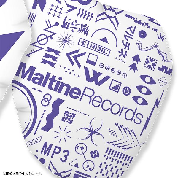 Maltine Records 10th記念マルチネくんクッション
