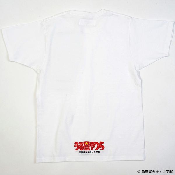 うる星やつら グリッチ刺繍Tシャツ(テン)