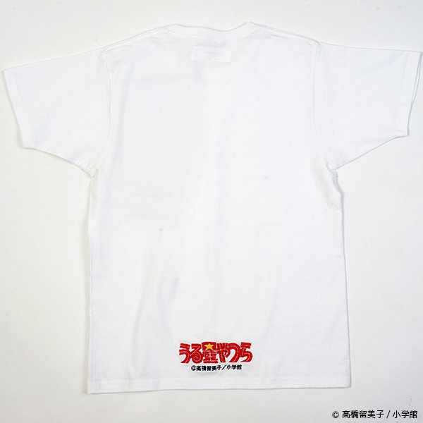 うる星やつら グリッチ刺繍Tシャツ(ラム)