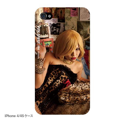 ピンク スパイダー iPhoneケース E ルビー(写真プリントタイプ)