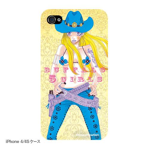 バッファロー5人娘 iPhoneケース A コミックス表紙(写真プリントタイプ)