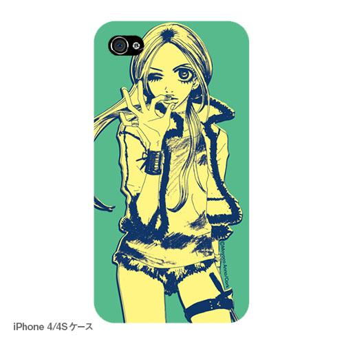 バッファロー5人娘 iPhoneケース E ハードなキャンディ(マットタイプ)