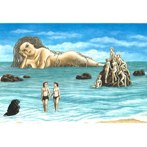 諸星大二郎ポストカード「海の女」