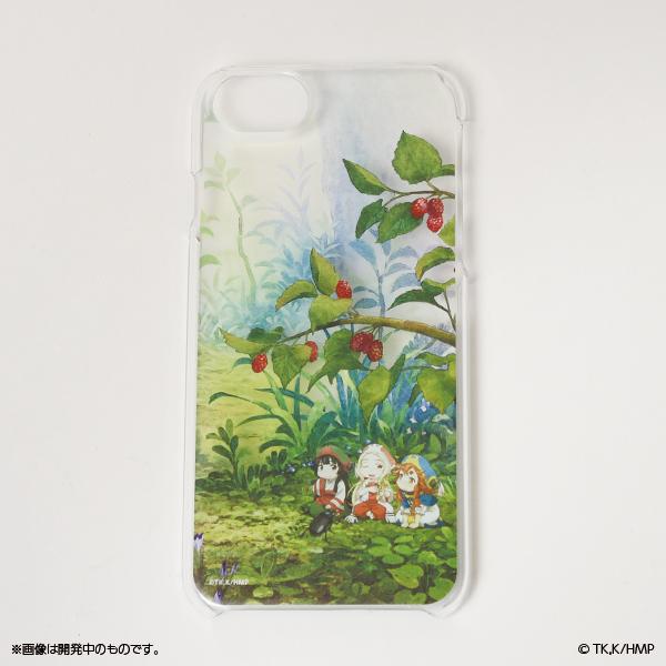 ハクメイとミコチ 森のiPhoneケース