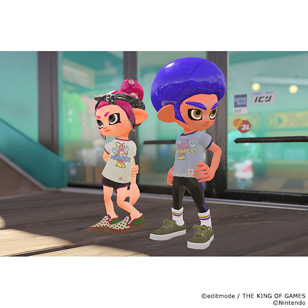 THE KING OF GAMES スプラトゥーン2 ミスターシュラッグTシャツ