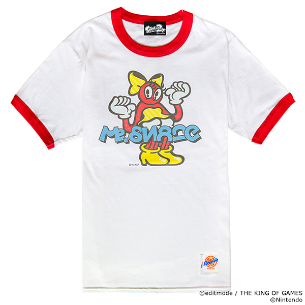 THE KING OF GAMES スプラトゥーン2 ミズシュラッグTシャツ