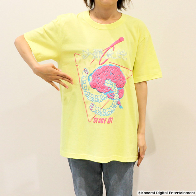 VIDEO GAME TOKYO 沙羅曼蛇 ゴーレムTシャツ