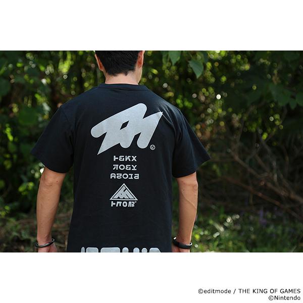 THE KING OF GAMES スプラトゥーン2 イカロゴVネックTシャツ