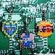 VIDEO GAME TOKYO マッピー アクリルキーホルダー