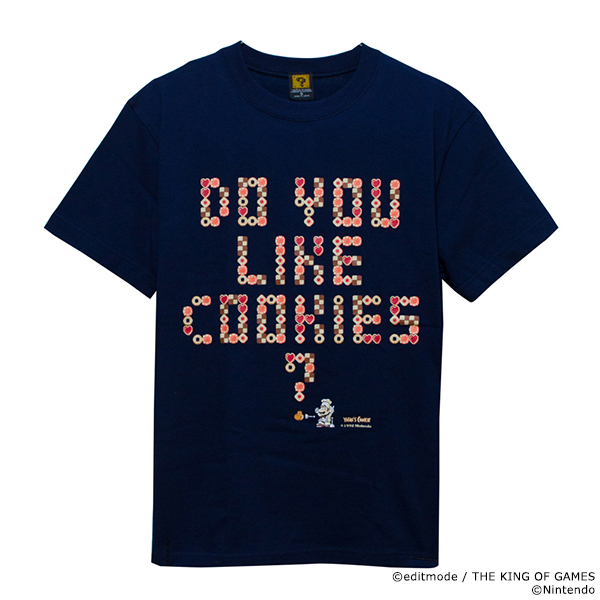 THE KING OF GAMES ヨッシーのクッキー Do you like cookies?Tシャツ