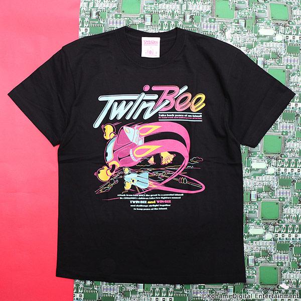 VIDEO GAME TOKYO TwinBee フルカラーTシャツ