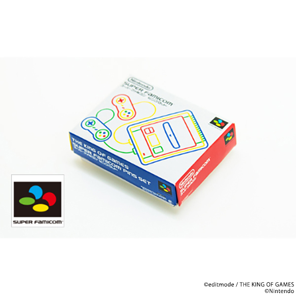 THE KING OF GAMES スーパーファミコンピンズセット