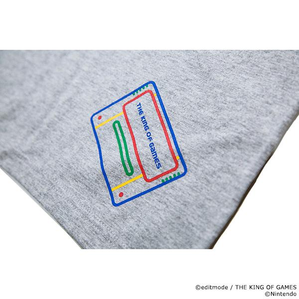 THE KING OF GAMES スーパーファミコン SF-BOXデザインTシャツ