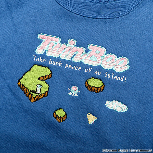 VIDEO GAME TOKYO TwinBee 刺繍スウェット