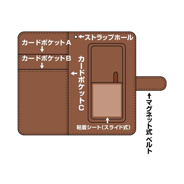 """プレイステーション 手帳型スマホケース """"PlayStation""""Shapes"""