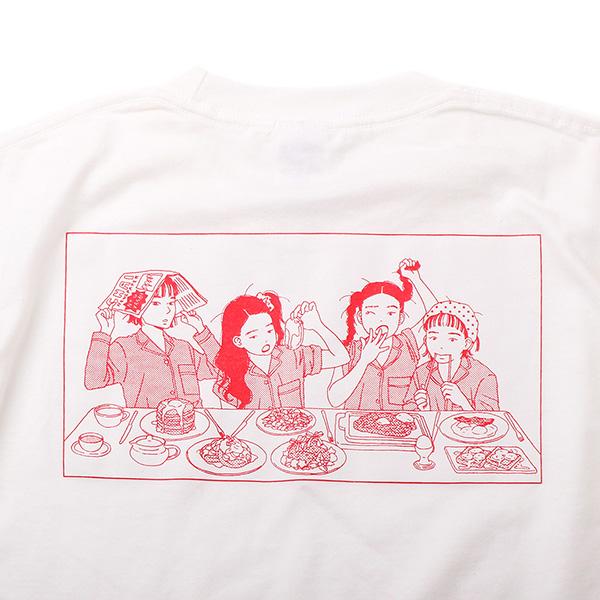 CHAI×マキヒロチ Tシャツ
