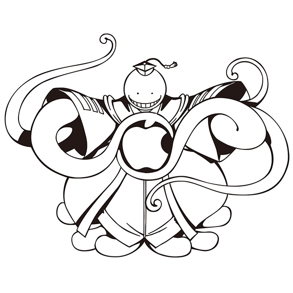 暗殺教室 PCステッカー(MacBook用)