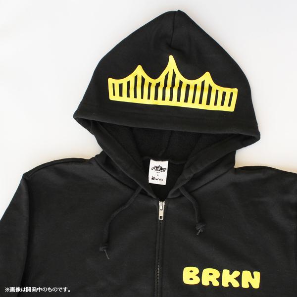 バリキュン!! BRKN パーカー