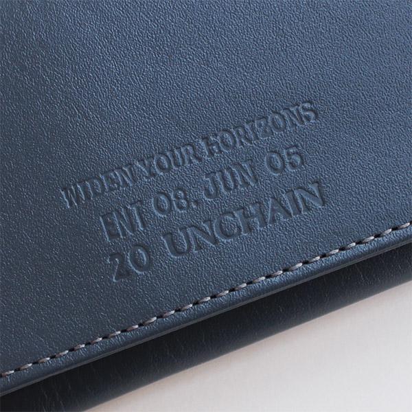 UNCHAIN レザーカードケース