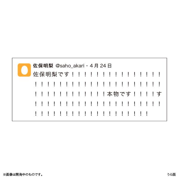佐保明梨×宇川直宏 100EXCLAMATIONS!Tシャツ NO.001