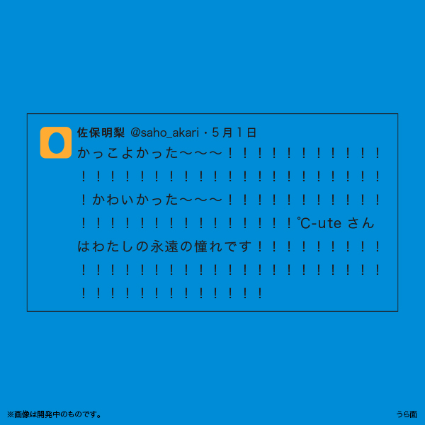 佐保明梨×宇川直宏 100EXCLAMATIONS!Tシャツ NO.016(限定1着)