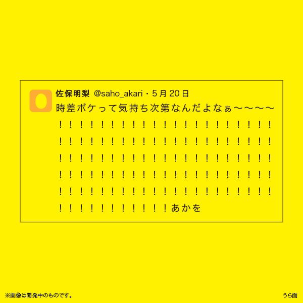 佐保明梨×宇川直宏 100EXCLAMATIONS!Tシャツ NO.023(限定1着)