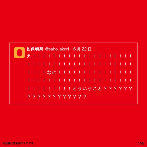 佐保明梨×宇川直宏 100EXCLAMATIONS!Tシャツ NO.035(限定1着)