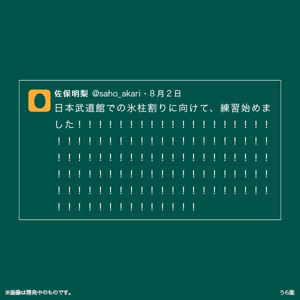 佐保明梨×宇川直宏 100EXCLAMATIONS!Tシャツ NO.057(限定1着)