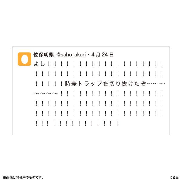 佐保明梨×宇川直宏 100EXCLAMATIONS!Tシャツ NO.081(限定1着)