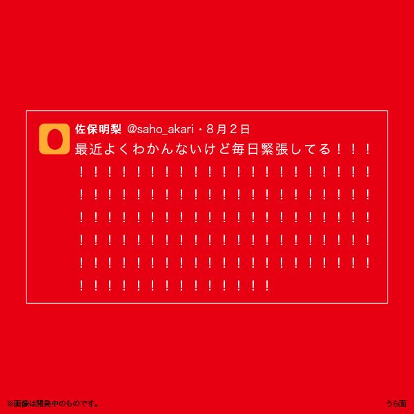 佐保明梨×宇川直宏 100EXCLAMATIONS!Tシャツ NO.085(限定1着)