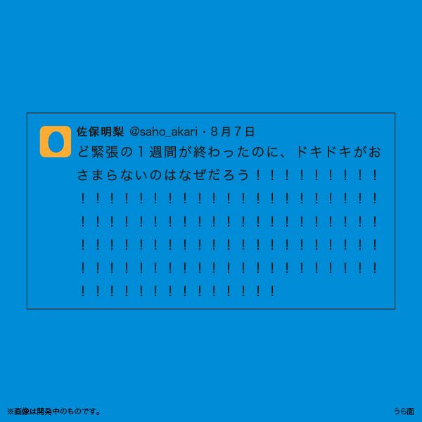 佐保明梨×宇川直宏 100EXCLAMATIONS!Tシャツ NO.096(限定1着)