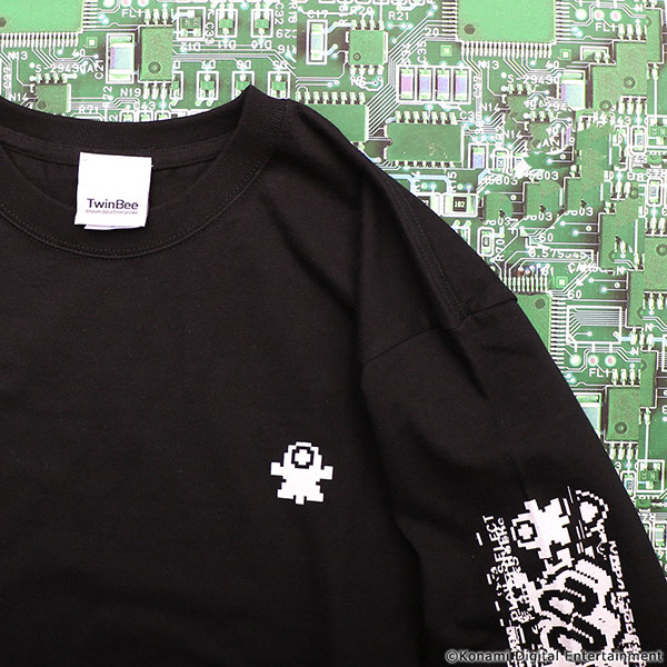 VIDEO GAME TOKYO TwinBee ロングTシャツ