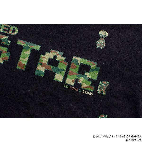 THE KING OF GAMES ファミコンウォーズ レッドスターTシャツ