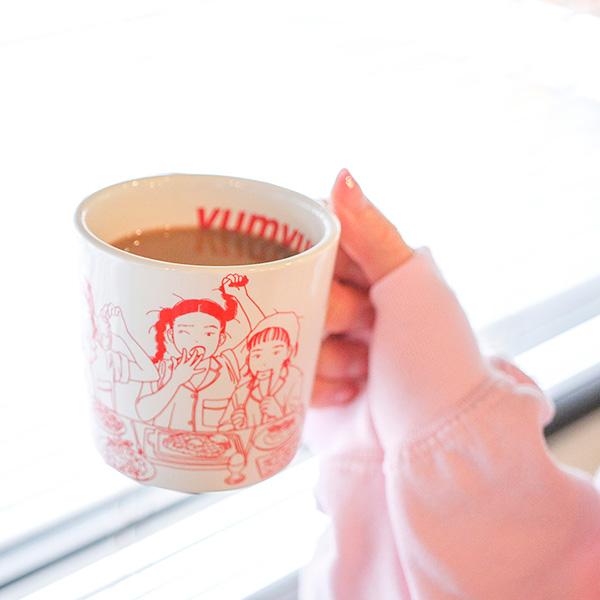 CHAI×マキヒロチ マグカップ