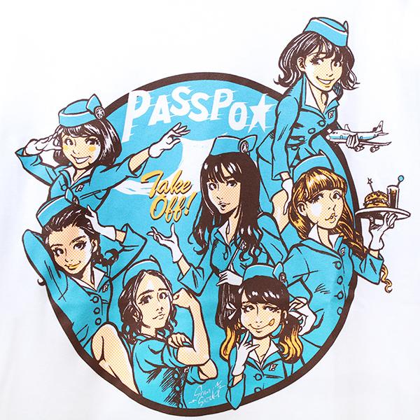 アイドル×クリエイターTシャツ PASSPO☆×鈴木旬