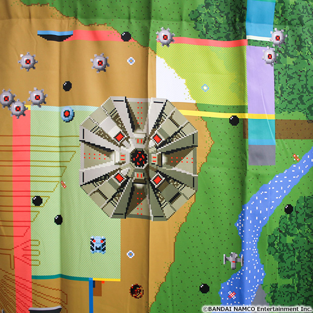 VIDEO GAME TOKYO ゼビウス 遮光付きカーテン 135cm