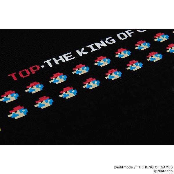 THE KING OF GAMES ドカンマリオTシャツ