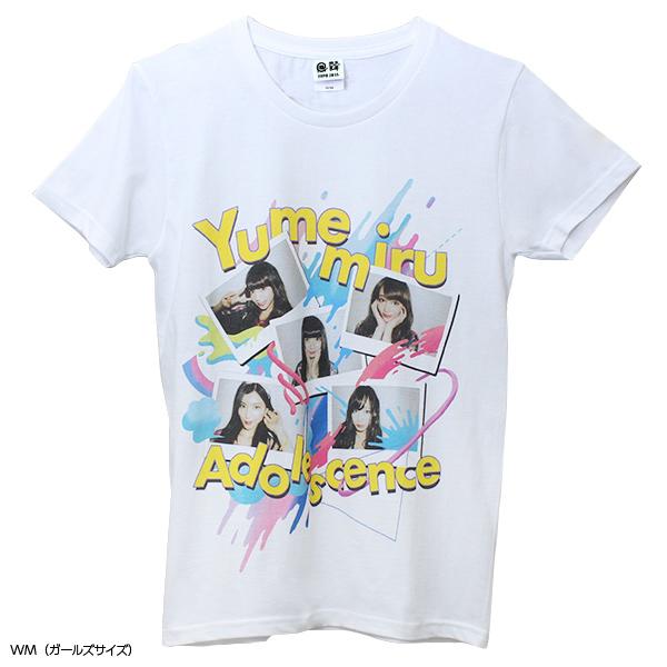 アイドル×クリエイターTシャツ 夢みるアドレセンス×KASICO