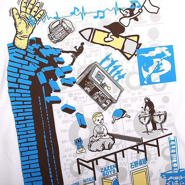 ライブイベント「地下室の喧騒」2021.10.11 石野卓球 / ZAZEN BOYS ロングスリーブTシャツ