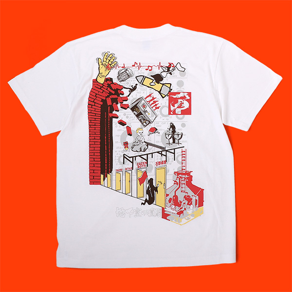 ライブイベント「地下室の喧騒」2021.10.11石野卓球 / ZAZEN BOYS Tシャツ