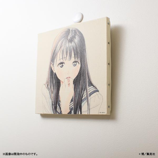 明日ちゃんのセーラー服 キャンバスアート