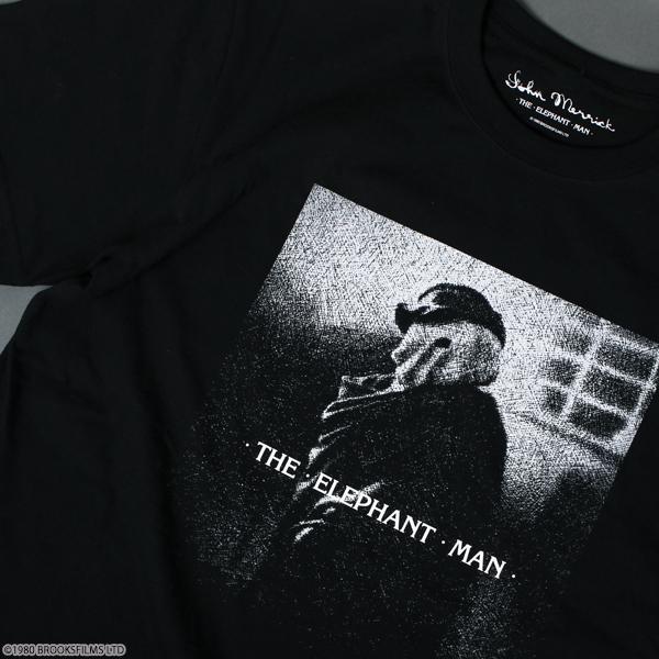 エレファント・マン Tシャツ ブラック