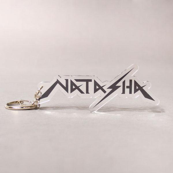 NATASHA ロゴアクリルキーホルダー