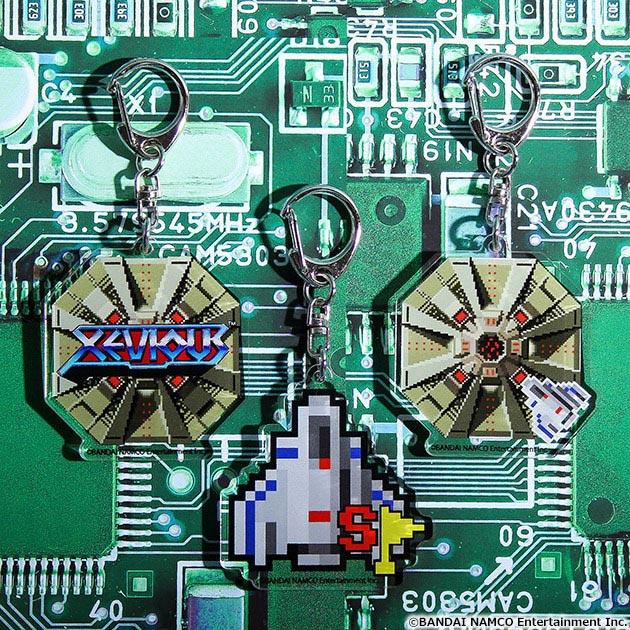 VIDEO GAME TOKYO ゼビウス アクリルキーホルダー