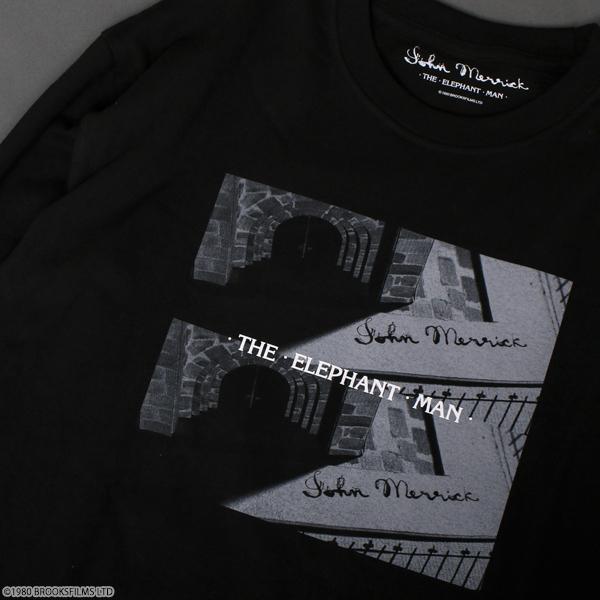 エレファント・マン ロングTシャツ ブラック