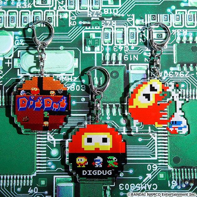 VIDEO GAME TOKYO ディグダグ アクリルキーホルダー