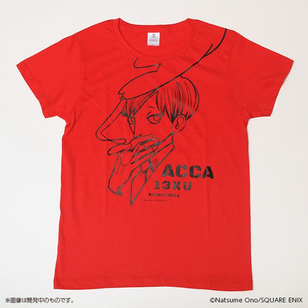 ACCA13区監察課 タバコをくゆらせるジーンTシャツ