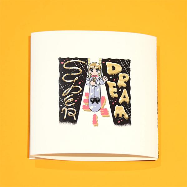 溜口スーパードリームショー ダウンロード音源 歌詞カード付き(オリジナルソング3曲+朗読)