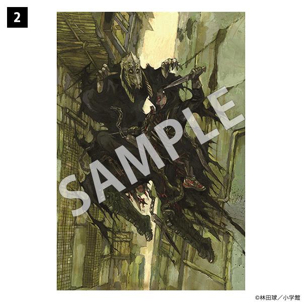 ドロヘドロ原画展 ポストカード