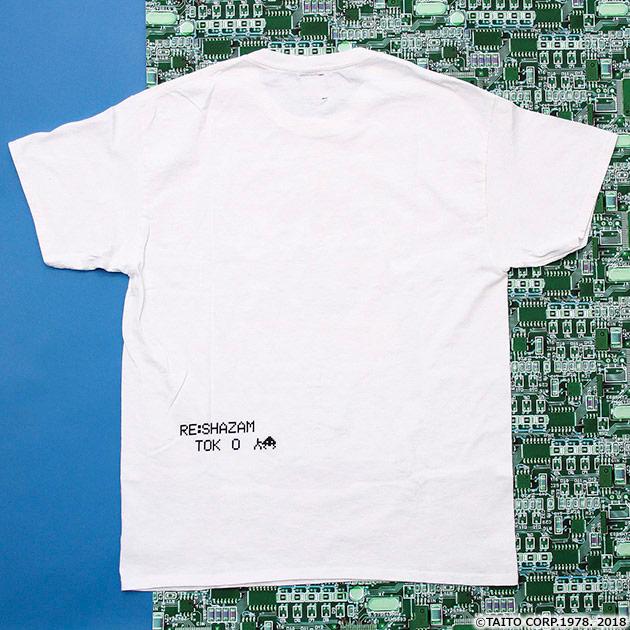 VIDEO GAME TOKYO スペースインベーダー UFOシリーズ 箔押しTシャツ